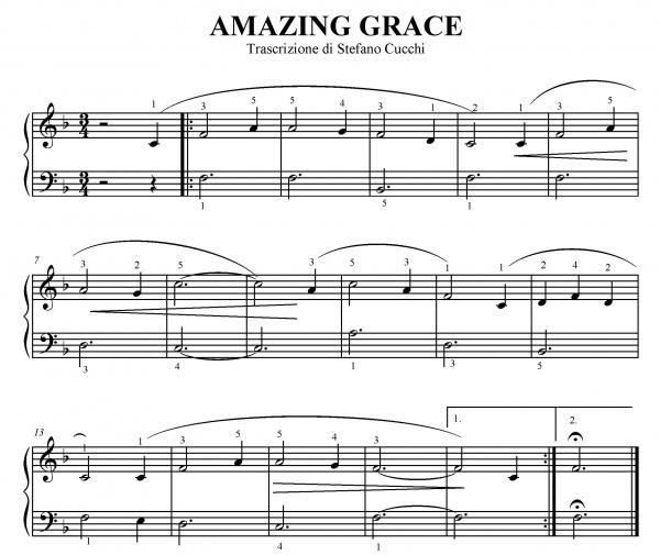 Amazing Grace Spartito Per Pianoforte Xu31 Regardsdefemmes: Questionidiarmonia.com » Archivio Blog » AMAZING GRACE